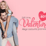 Valentine's Day 2021 reduceri de pana la 80% la diverse cadouri